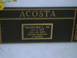 Telesforo L Acosta, Sr