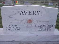 Elsie Maxine <I>Croney</I> Avery