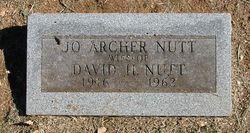 Jo <I>Archer</I> Nutt