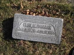 Elsie M. Hamann