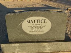 Evelyn Jane <I>Taylor</I> Mattice