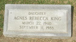 Agnes Rebecca King