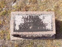 Alpheus Brant Hussong, Jr