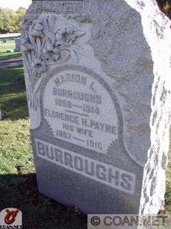 Florence H. <I>Payne</I> Burroughs