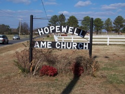 Hopewell AME Church Cemetery