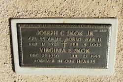 Virginia E Skok