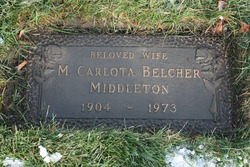 Melissa Carlota <I>Belcher</I> Middleton