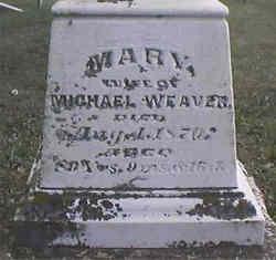 Maria <I>Spessard</I> Weaver