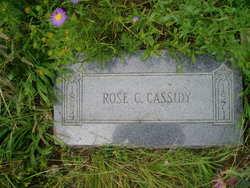 Rose Cecilia <I>McCloskey</I> Cassidy