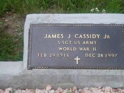 Sgt James John Cassidy, Jr