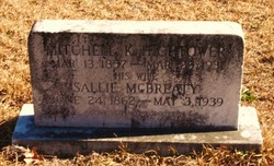 Sallie <I>McBrearty</I> Hightower