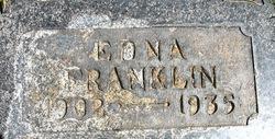 Edna Franklin