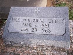 """Philomene """"Philo"""" <I>Stemmans</I> Weber"""