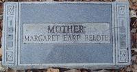 Margaret <I>Earp</I> Belote