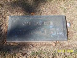 Annie <I>Self</I> Landreth
