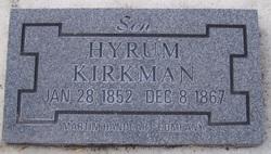 Hyrum Kirkman