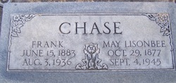 May <I>Lisonbee</I> Chase