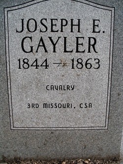 Joseph E Gayler