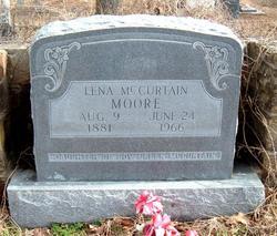 Lena <I>McCurtain</I> Moore