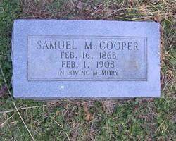 Samuel M Cooper
