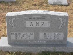 Hubert August Anz