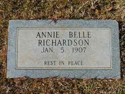 Annie Belle Richardson