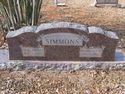 Florence Elmira <I>Wilson</I> Simmons