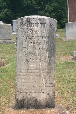 Harriet Pendleton <I>Yancey</I> Yancey