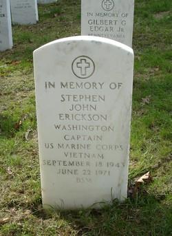 Capt Stephen John Erickson
