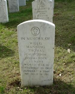 CDR Willis Manning Thomas