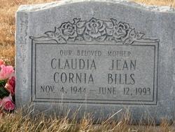 Claudia Jean <I>Cornia</I> Bills
