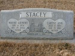 Larene Ann <I>Williams</I> Stacey