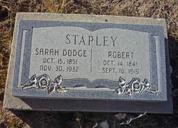Sarah Amanda <I>Dodge</I> Stapley