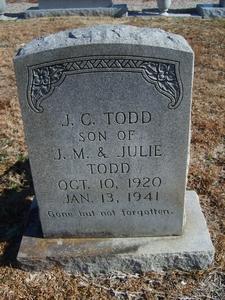 Joseph C Todd