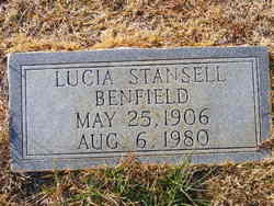 Lucia <I>Stansell</I> Benfield