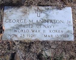 George M Anderson, Jr