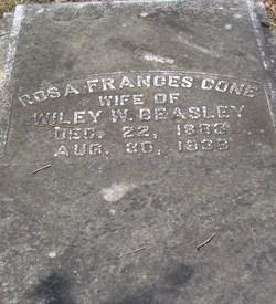 Rosa Frances <I>Cone</I> Beasley