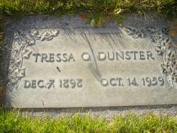Tressa Oretta <I>Shurtz</I> Dunster