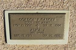 Alice Josephine <I>Read</I> Gauger