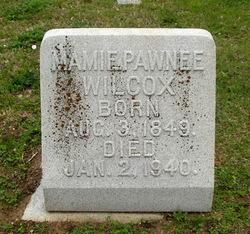 """Mary Pawnee """"Mamie"""" <I>Easley</I> Wilcox"""