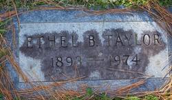 Ethel Lucille <I>Benfield</I> Taylor
