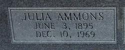Julia <I>Ammons</I> Todd
