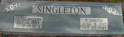 Estell Effie <I>Jones</I> Singleton