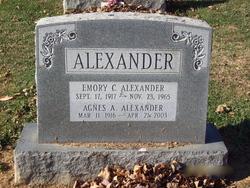 Agnes Amelia <I>Zimmerman</I> Alexander