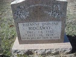 Roxanne Darleene Ridgeway