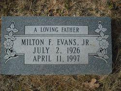 """Milton Frances """"Bud"""" Evans, Jr"""