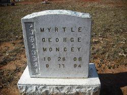 Myrtle George Moncey