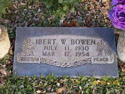 Ibert W Bowen