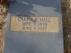 Carrie <I>Etheridge</I> Hall