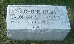 """Salomon August """"S.A."""" Schonstrom"""